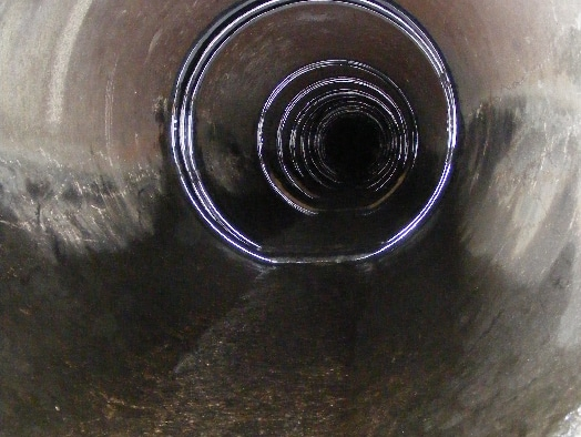 Many HydraTite Rubber Seals protecting the joints in a long pipeline