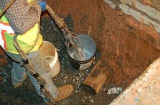 waterline pipe solution