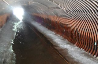 storm drain water leak