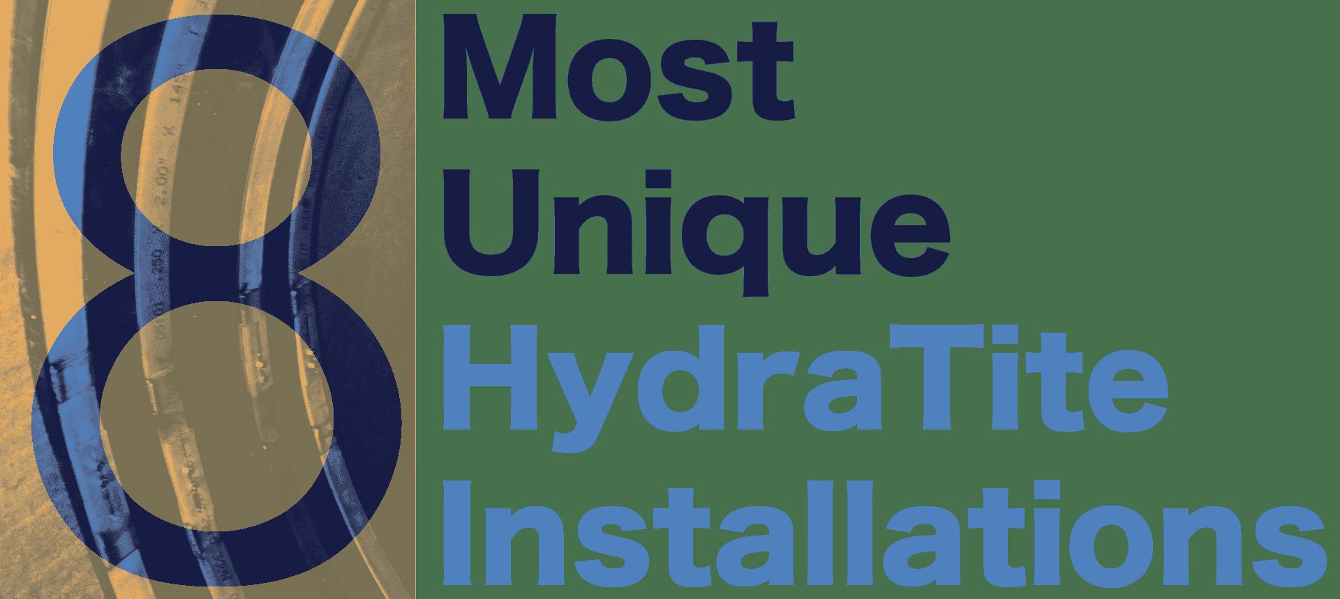 '8 Most Unique HydraTech Installation'